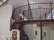 Castel Style Overhead Walkway and Access Stairs- Doonbeg