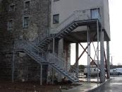 Galvanised Escape Stairs - Kilrush