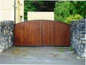 teak-clad-sliding-gate