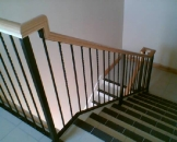 Balustrade 'Twist and Square' Design