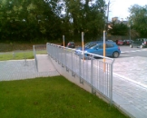 Clare County Council - Carpark Railing