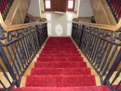 Decorative Stairs - Rings and Petal Design